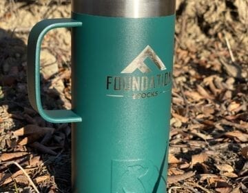 Foundation 16oz Insulated Tumbler with Handle - Forest Green