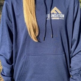 Foundation Performance Fleece Hoodie (Navy)