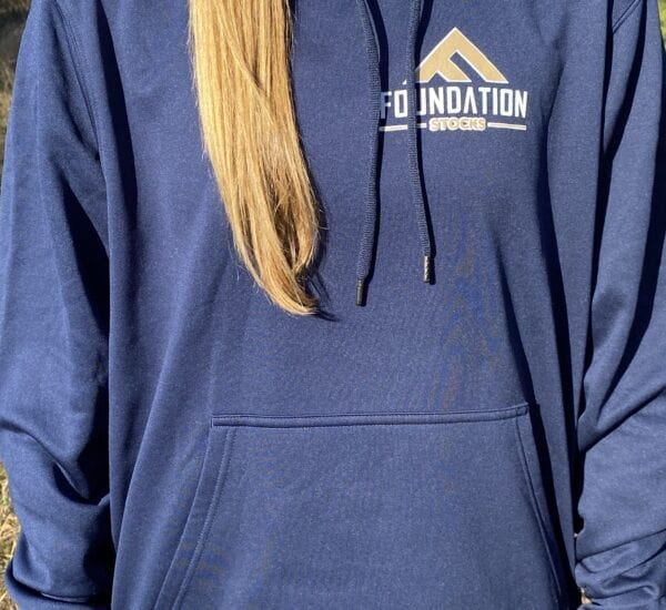 Foundation Stocks Hoodie Navy Front