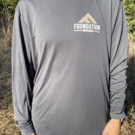 Foundation Performance Dri Fit Long Sleeve Shirt (Without hood)