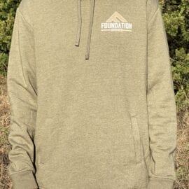 Foundation Triblend Hoodie – Military Green