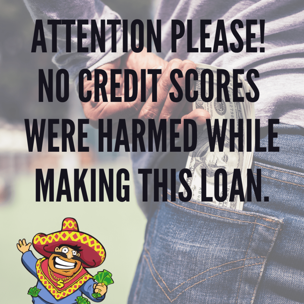 Get Cash Today! No credit checks or loan applications are required.